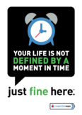 your life is not defined by a moment in Time