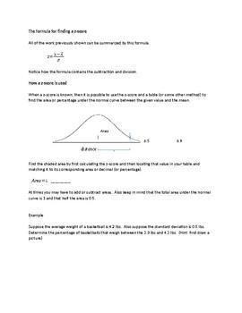 z-scores - An Introduction