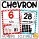 CHEVRON Classroom Decor in Primary Colors