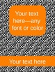 zebra binder covers (editable)--orange