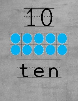 zero to twenty number book