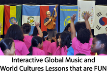 Interactive global music and world cultures lessons that are FUN