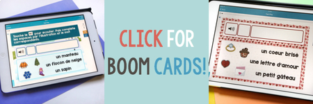 Audio Vocabulary Practice with BOOM Cards!