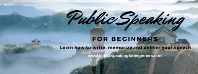 Write - Memorize - Deliver your Speech