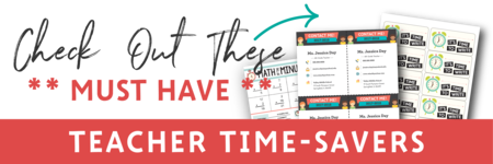 Check Out These Must-Have Teacher Time-Savers!