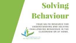 Visit Solving Behaviour Today!