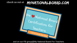My National Board for Teachers