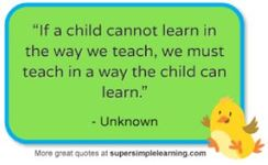 Every child CAN learn!