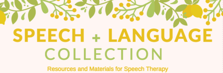 Resources For Speech Therapy