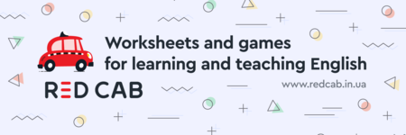 Worksheets and games for learning and teaching English