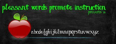 Pleasant Words Promote Instruction (proverbs 16:21)