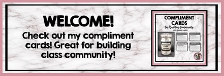 https://www.teacherspayteachers.com/Product/Compliment-Cards-For-Building-Class-Community-3877320