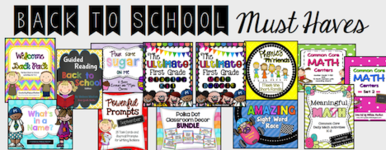 Back to School Resources for your K-2 Classroom