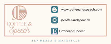 Head on over to the Coffee & Speech Blog!