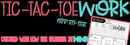 Tic-Tac-ToeWork