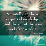 Proverbs 18:15
