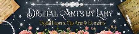 Digital Papers, Clip Arts, Watercolor, Elements