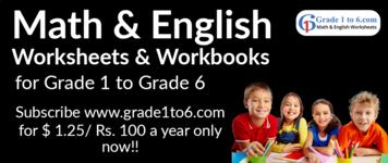 Math & English E-Workbooks for the Next Generation