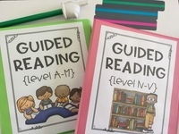 Guided Reading Passages for Levels Pre A-V
