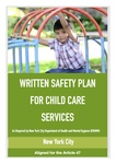 20% OFF - Written Safety Plan for Group Child Care Services