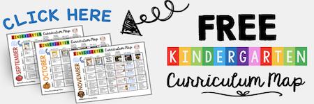 FREE Curriculum Map