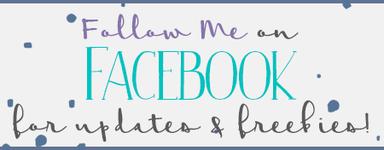 Click to Follow me on Facebook!