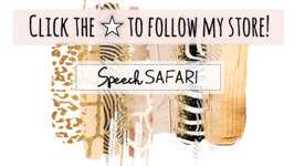 Welcome to Speech Safari!