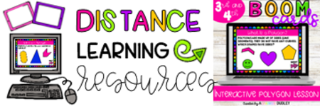 Click Here for Distance Learning Resources!