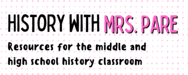 History Resources for EVERY Middle and High School Classroom