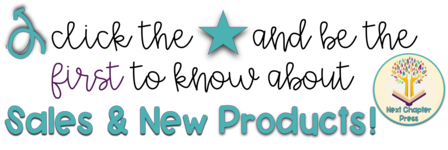 Click the star and be the first to know about sales and new products!