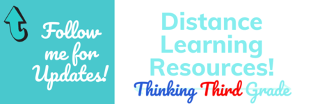 Thinking Third Grade Distance Learning Resources