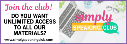 Join the Simply Speaking Club