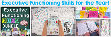Executive Functioning Skills for the Year!