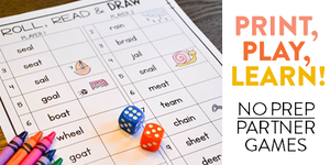 Print & Play Phonics Games!