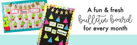 Monthly Bulletin Board Bundle