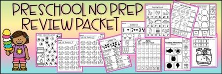 No Prep Preschool!
