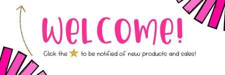 Welcome! Follow me for updates on new products and sales!