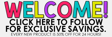 Click HERE to follow for exclusive savings!