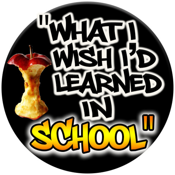 What I Wish I'd Learned in School