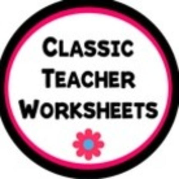 Classic Teacher Worksheets Teaching Resources | Teachers Pay Teachers