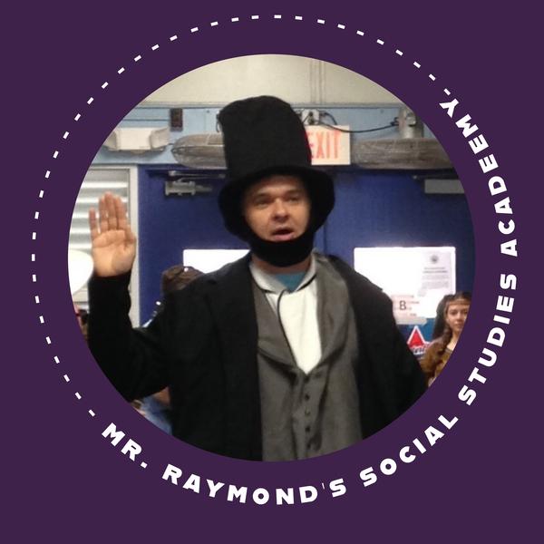 mr raymond social studies academy teaching resources
