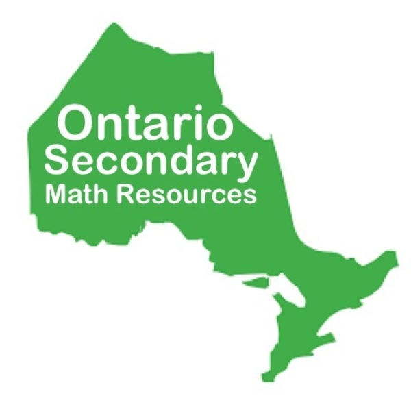 Ontario Secondary Math Resources Teaching Resources