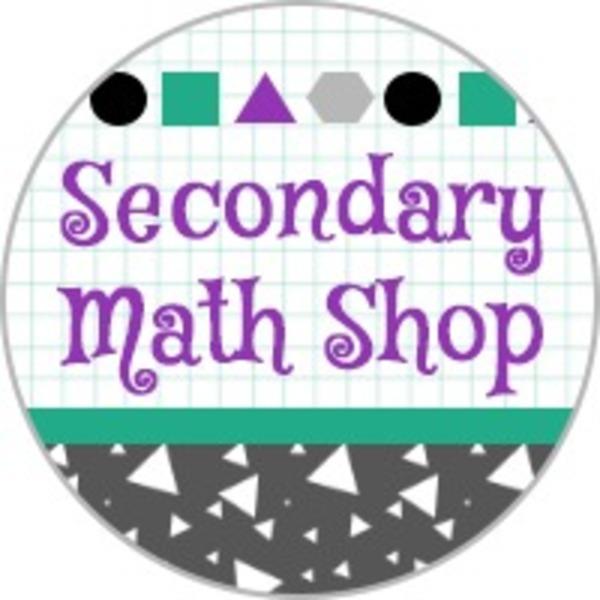 Secondary Math Shop Teaching Resources | Teachers Pay Teachers