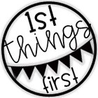 1st Things First by Mrs M