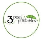 3 Peas Printables