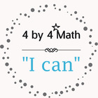 4 by 4 Math and Teaching Resources