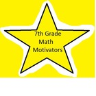 7th Grade Math Motivators