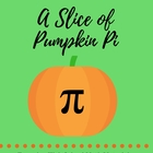 A Slice of Pumpkin Pi