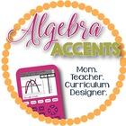Algebra Accents