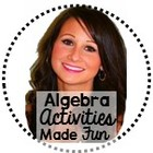 Algebra Activities Made Fun